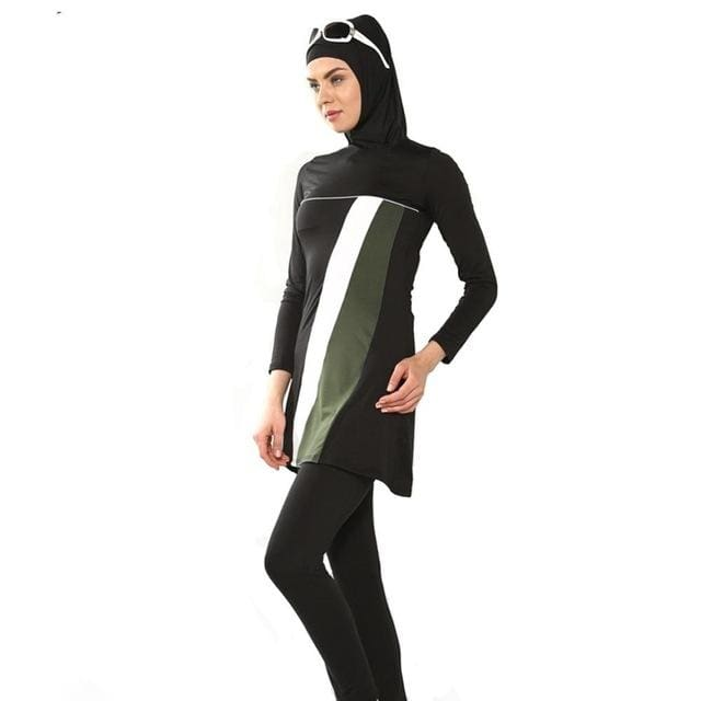 modest swimsuits Full islamic swimwear Women muslim bathing suit muslimah swimwear adult Arab Beach - MBMCITY