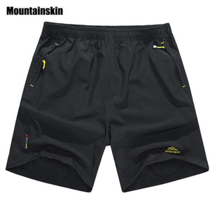Mountainskin Summer Mens Quick Dry Shorts 8XL 2017 Casual Men Beach Shorts Breathable Trouser Male