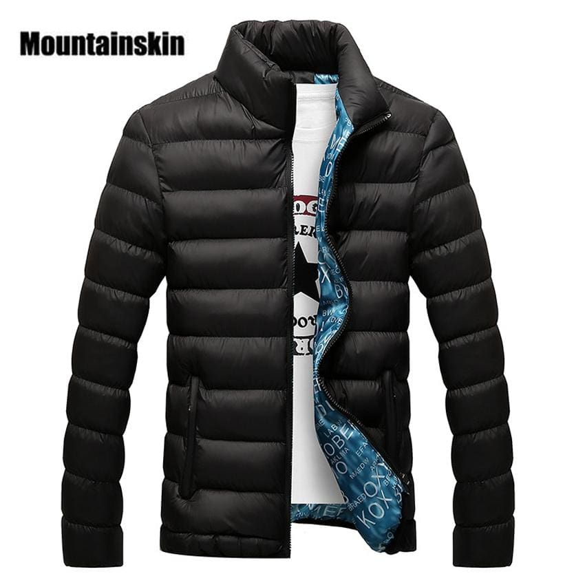 Mountainskin Winter Men Jacket 2017 Brand Casual Mens Jackets And Coats Thick Parka Men Outwear 4XL