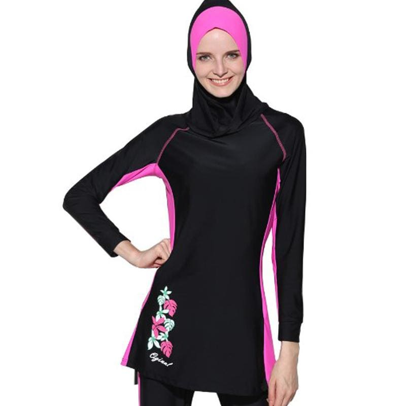 751467dbf0efb Muslim bikini swimwear With Cap Islamic Swimming Suits 2017 Hot Newest  Vintage – MBMCITY