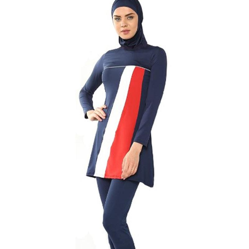 7b072ce8282dc Muslim Swim Suits Hot Selling Plus Size Muslim Swimsuit Islamic Swimwear  Women Beach High – MBMCITY