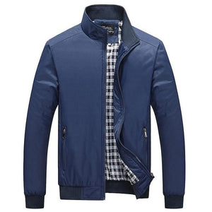 NaranjaSabor 2018 Spring Men's Jackets Men Casual Coats Men's Fashion Windbreaker Brand Clothing - MBMCITY