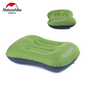Naturehike Portable Outdoor Inflatable Pillow Sleeping Gear Travel Aeros Pillow Inflatable Cushion Orange