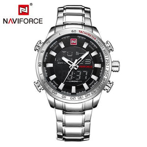 Naviforce Top Brand Luxury Mens Watches Fashion Casual Sport Wristwatch Waterproof Date Clock Army S B W