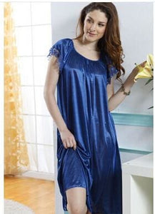 New 2015 Sexy Womens Casual Chemise Nightie Nightwear Lingerie Nightdress Sleepwear Dress Free As The Photo Show 1 / L