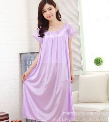 New 2015 Sexy Womens Casual Chemise Nightie Nightwear Lingerie Nightdress Sleepwear Dress Free As The Photo Show 7 / L