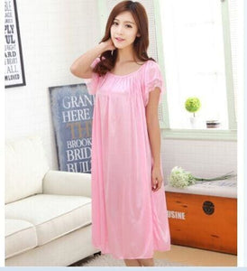 New 2015 Sexy Womens Casual Chemise Nightie Nightwear Lingerie Nightdress Sleepwear Dress free As the photo show 8 / L