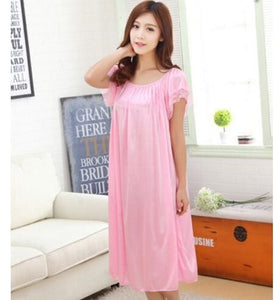 New 2015 Sexy Womens Casual Chemise Nightie Nightwear Lingerie Nightdress Sleepwear Dress free As the photo show 2 / L