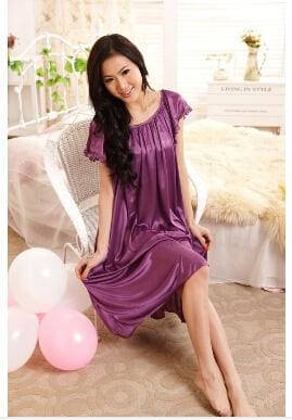 New 2015 Sexy Womens Casual Chemise Nightie Nightwear Lingerie Nightdress Sleepwear Dress free As the photo show 3 / L