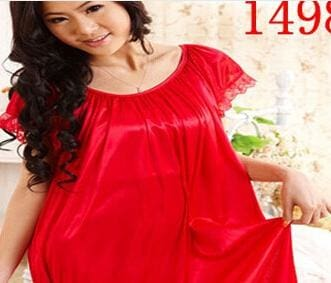 New 2015 Sexy Womens Casual Chemise Nightie Nightwear Lingerie Nightdress Sleepwear Dress Free As The Photo Show 4 / L