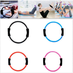New 39Cm Sport Fitness Magic Resistance Ring Circle For Women Yoga Pilates Yoga Rings Fitness
