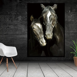 New arrivals animals canvas painitng print horse Wall Pictures for Living Room Art Decoration - MBMCITY