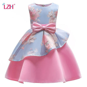 New Elegant Girls Princess Dress Kids Party Dresses For Girls Wedding Dress Children Christmas Dress