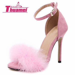 New Fashion Women Pumps Sexy Shoes High Heels Women Shoes Spring Summer Autumn Shoes Woman Thin - MBMCITY