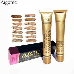 New Foundation Base Matte Liquid Makeup Concealer Full Coverage Waterproof Face Cream Whitening