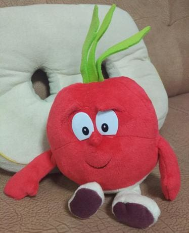 New Fruits Vegetables Cauliflower Mushroom Blueberry Starwberry 9 Soft Plush Doll Toy Carrot