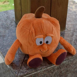 New Fruits Vegetables Cauliflower Mushroom Blueberry Starwberry 9 Soft Plush Doll Toy Pumpkin