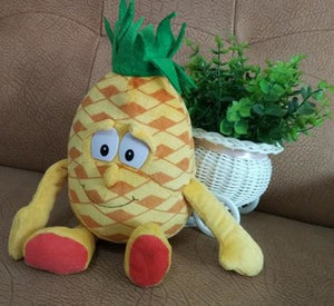 New Fruits Vegetables Cauliflower Mushroom Blueberry Starwberry 9 Soft Plush Doll Toy Pineapple