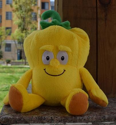 New Fruits Vegetables Cauliflower Mushroom Blueberry Starwberry 9 Soft Plush Doll Toy Pepper