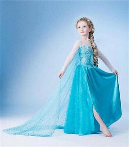 New Girls cartoon princess Dress Halloween Costume Princess Dress Girl Christmas Dress Kids Cosplay - MBMCITY