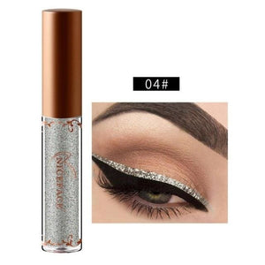 New Golden Shimmer Makeup Liquid Eyeliner Metallic 12 Colors Glitter Eyeliner Make Up Diomand 04