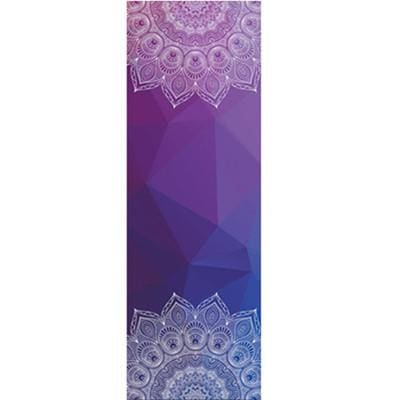 New Issue Retro Style Yoga Mat Towel Sport Fitness Gym Exercise Pilates Workout Portable Training Brown