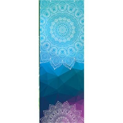 New Issue Retro Style Yoga Mat Towel Sport Fitness Gym Exercise Pilates Workout Portable Training Black