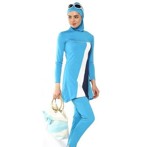 New Muslim swimsuit ladies keep swimsuit beach swim.