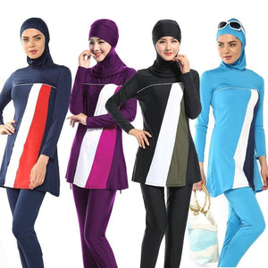 New Muslim swimsuit ladies keep swimsuit beach swim - MBMCITY