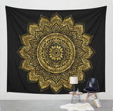 New Printed Lotus Tapestry Bohemia Mandala Tapestry Wall Hanging For Wall Decoration Hippie Tapestry - MBMCITY