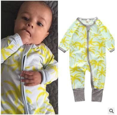New Retail 2018 New Newborn Infants Baby Boy And Girl Wear Mickey Even Climb Clothes Conjoined Ha Green / 3M