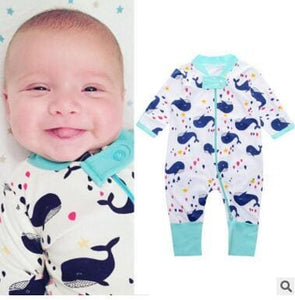 New Retail 2018 New Newborn Infants Baby Boy And Girl Wear Mickey Even Climb Clothes Conjoined Ha Red / 3M