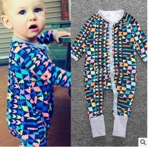 New Retail 2018 New Newborn Infants Baby Boy And Girl Wear Mickey Even Climb Clothes Conjoined Ha Yellow / 3M