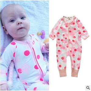 New Retail 2018 New Newborn Infants Baby Boy And Girl Wear Mickey Even Climb Clothes Conjoined Ha Multi / 3M