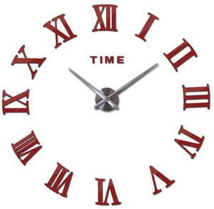 new wall clock watch clocks reloj de pared home decoration 3d acrylic special diy sticker Living - MBMCITY