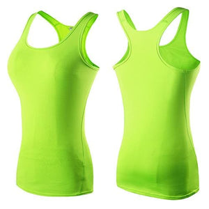 New Women Good Quality Yoga Gym Tank Top Fitness t-shirts Dry Sports Shirts for Girl Fast shipping