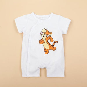 Newborn baby cotton rompers lovely Rabbit ears baby boy girls short sleeve baby costume  Jumpsuits - MBMCITY