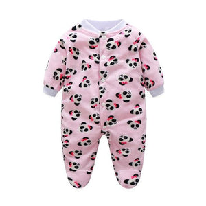 Newborn Unisex Baby Clothes Cartoon Animal Costume Baby Girls Boys Jumpsuit clothing Winter Warm - MBMCITY