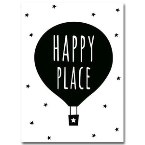 Nordic Art Cartoon Poster Minimalist Canvas Painting Motivational Funny Quotes Wall Picture Modern 15x20cm No Frame / Picture 2