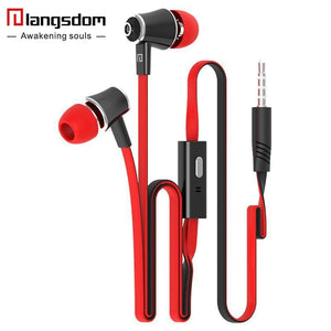 Official Original Langsdom Jm21 In-Ear Earphone Colorful Headset Hifi Earbuds Bass Earphones High