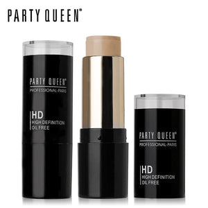 Party Queen Face Makeup Hd Foundation Stick Corrector Pen Contour Stick Oil-Free Cream Pro Concealer