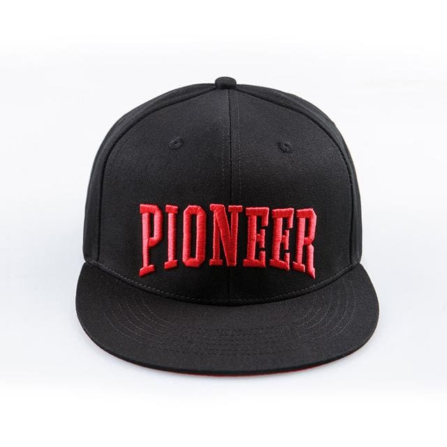 Pioneer Camp brand top grade Snapback caps men baseball cap 100% cotton letter embroidery hats hip - MBMCITY