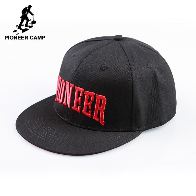 Pioneer Camp brand top grade Snapback caps men baseball cap 100% cotton letter embroidery hats hip