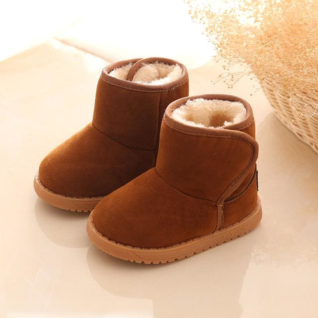 Plush Warm Baby toddler boots shoes child snow boots shoes for boys girls winter snow boots comfy
