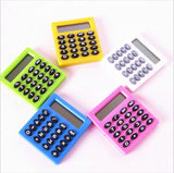 Pocket Cartoon Mini Calculator Ha ndheld Pocket Type Coin Batteries Calculator carry extras