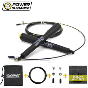 POWER GUIDANCE Speed Jump Rope Fitness 3M Wire Gym Training skipping Sports Exercise Adjustable - MBMCITY