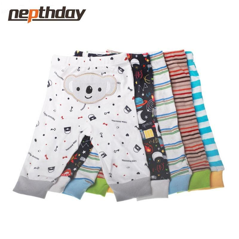 PP Pants 5pcs/lot 2016 Baby Fashion Model Babe Pants Cartoon Animal Printing Baby Trousers Kid Wear - MBMCITY