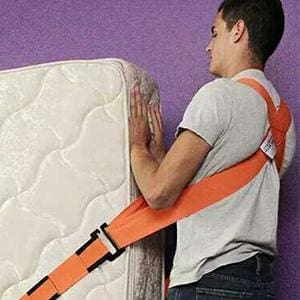 Practical 2Pc/set Lifting Moving Strap Hand/shouler Strap For Heavy Furniture Easy To Carry 3