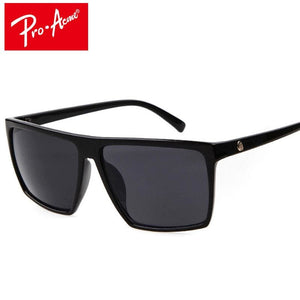 Pro Acme Square Sunglasses Men Brand Designer Mirror Photochromic Oversized Sunglasses Male Sun