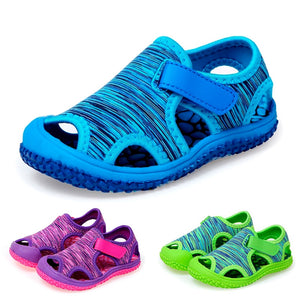 Summer Baby Boys Girls Sandals Childrens Aqua Sport Sandals Soft Non-slip Toddler Infant Shoes Kids Outdoor Beach Water Shoes - MBMCITY